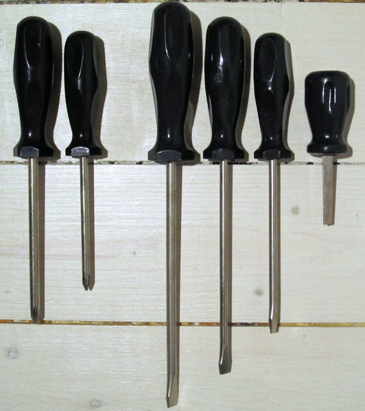 Screwdriver set grooves and crosses, XNUMBER chiselFloby Överskottslager