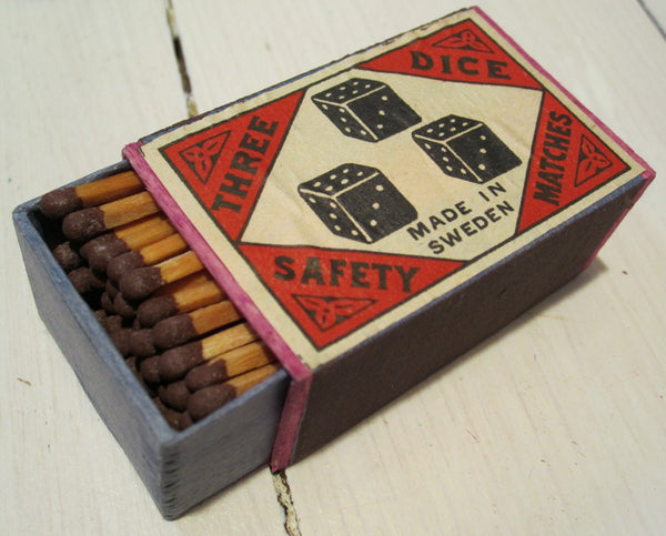 Matchbox older in wood, less-Floby Överskottslager