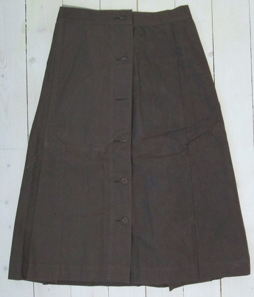 Lotus skirt in gray-brown cottonFloby Överskottslager
