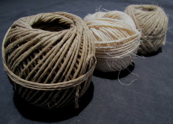 Natural fiber cord, 3-pack-Floby Surplus stock