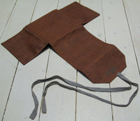 Storage case in gallon fabric, with tie bandFloby Överskottslager