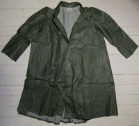 Raincoat military, green-Floby Överskottslager