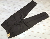 Pants/summer trousers in gray cotton-Floby Överskottslager