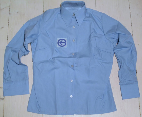 "Shirt/blouse ""Tramway"", light blue-Floby Överskottslager"
