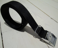 Packing strap black 1m, 25mm.-Floby Överskottslager
