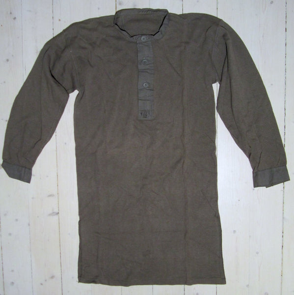 Sweater military / knitted shirt w / 39Floby Överskottslager