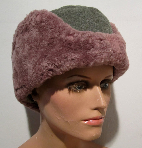 Boat cap in gray calf, winter modelFloby Överskottslager
