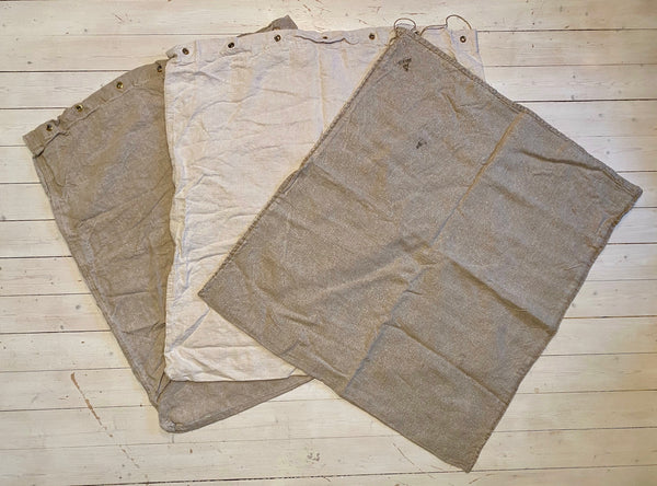 Large cloth sack, used