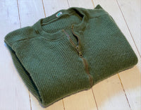 Woollen m/59 sweater with zipper, used condition