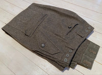 Trousers in calfskin, m/58, used