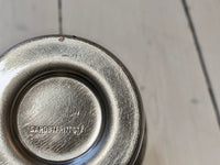 Cup in stainless steel, used condition