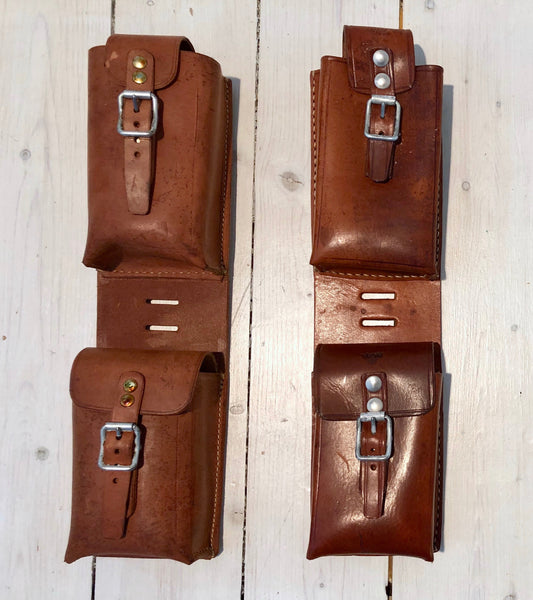 Cooker pocket/leather case with two compartmentsFloby Överskottslager