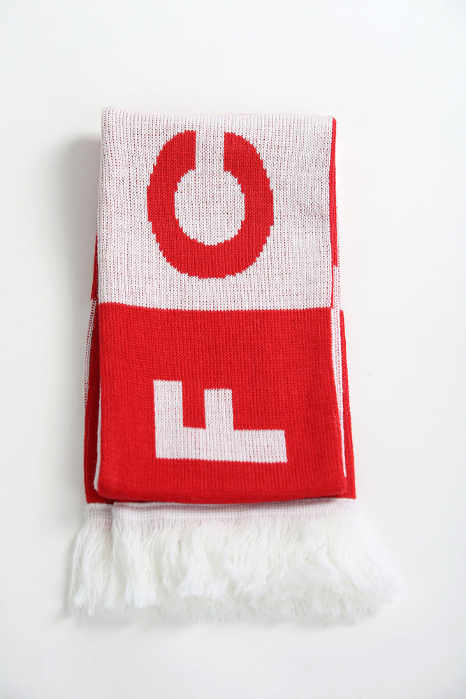Kids Matching Hat & Bar Scarf Set