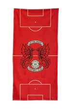 Football Pitch Towel