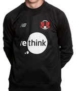 Training Sweater Black 2020-22-Mens