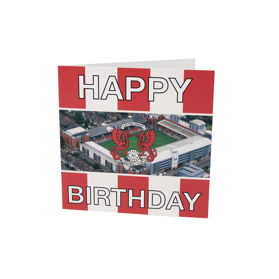 LOFC Stadium Birthday Card
