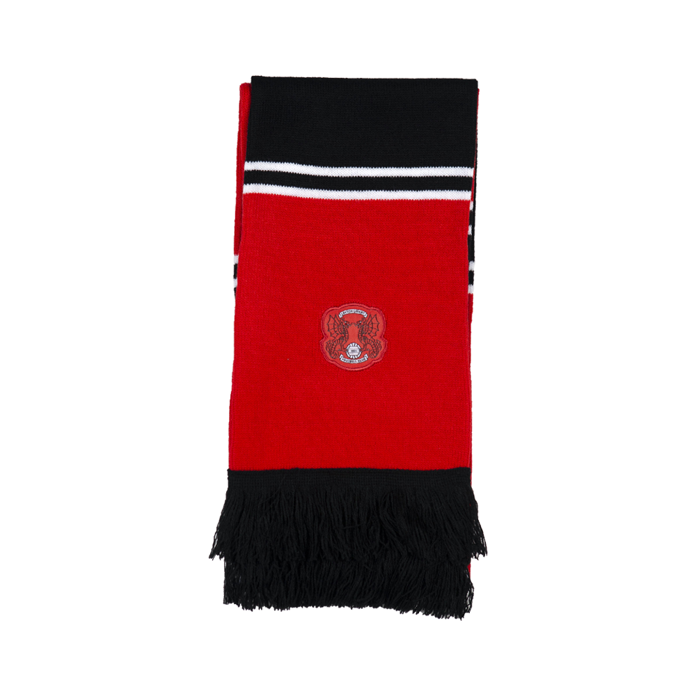 Black & Red Bar Scarf-2020/21