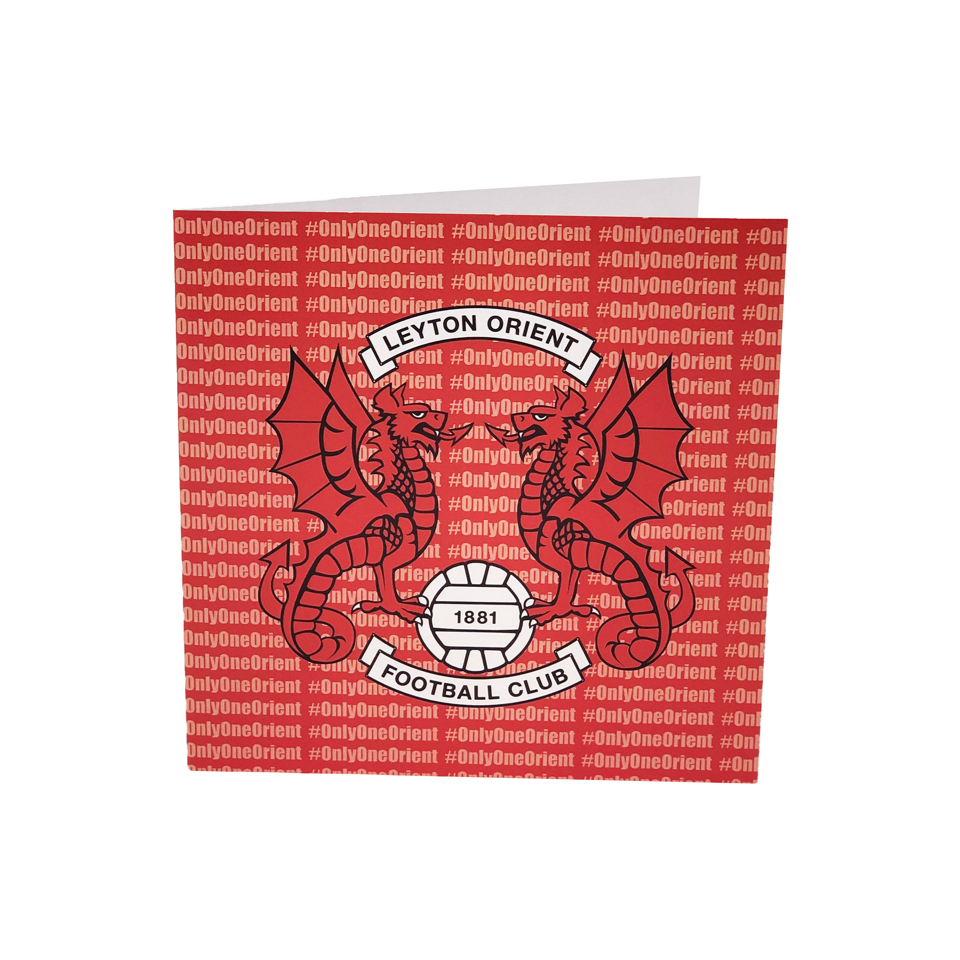 Club Crest Birthday Card