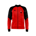 Pre-Match Knitted Jacket Red & Black 2020/21-Mens