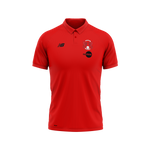 Polo Shirt Impact Red 2020/21-Junior