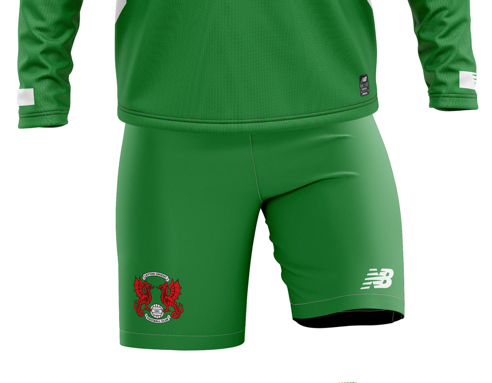 Goalkeeper Green Replica Shorts 2020/21 - Junior