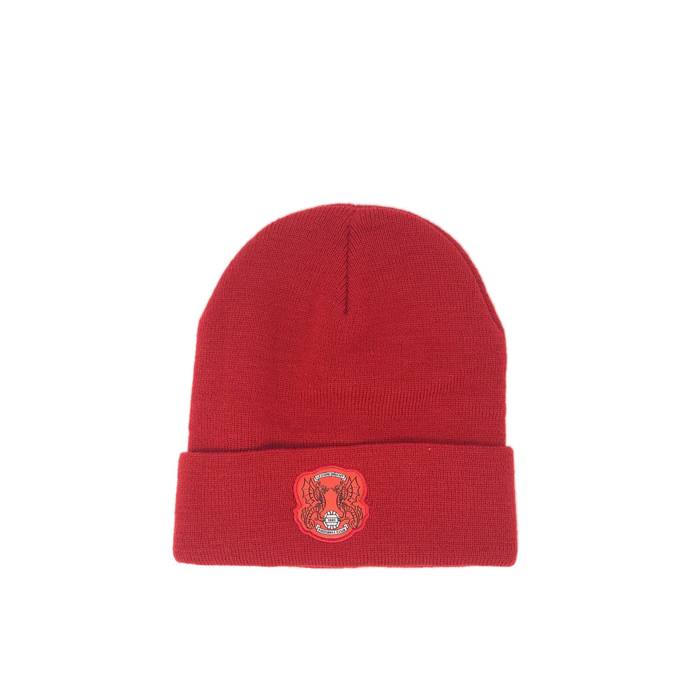 LOFC Essential Bronx Beanie Hat Red
