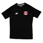 Mens Training S/S Jersey Black