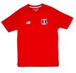 Mens Training S/S Jersey Red
