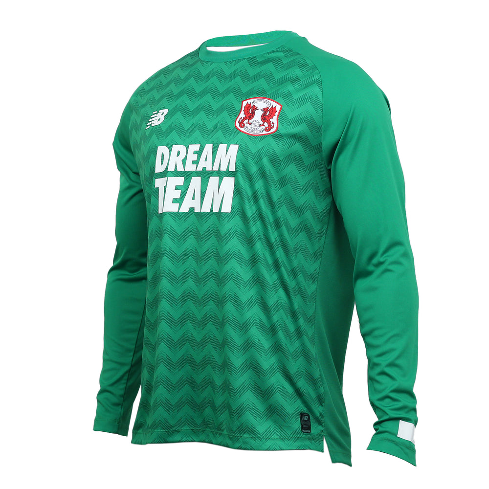 L/S Replica Goalkeeper Kit Green 19-20 Mens Adult