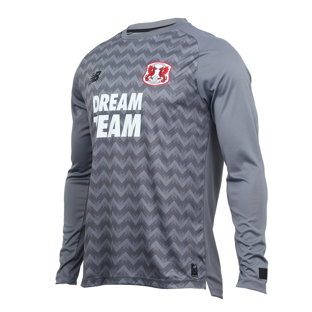 L/S Replica Goalkeeper Kit Grey 19-20 Mens Adult