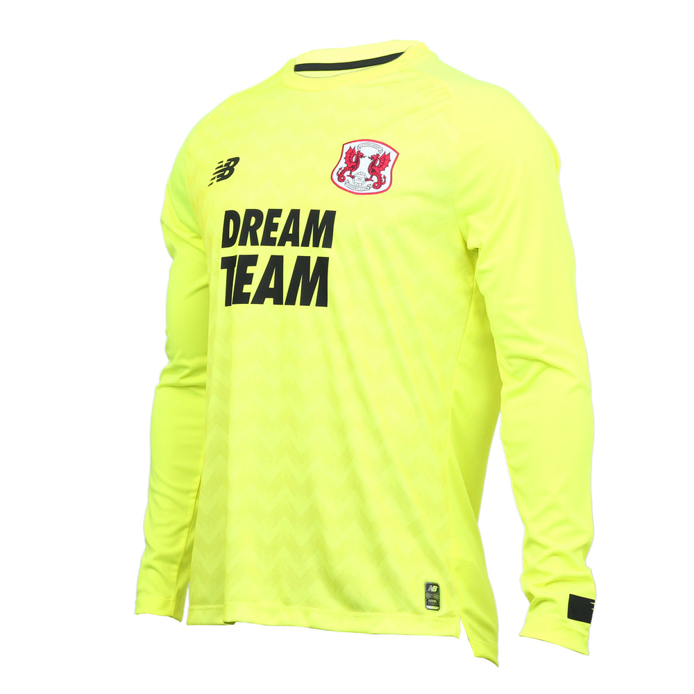 L/S Replica Goalkeeper  Kit Yellow 19-20 Mens Adult