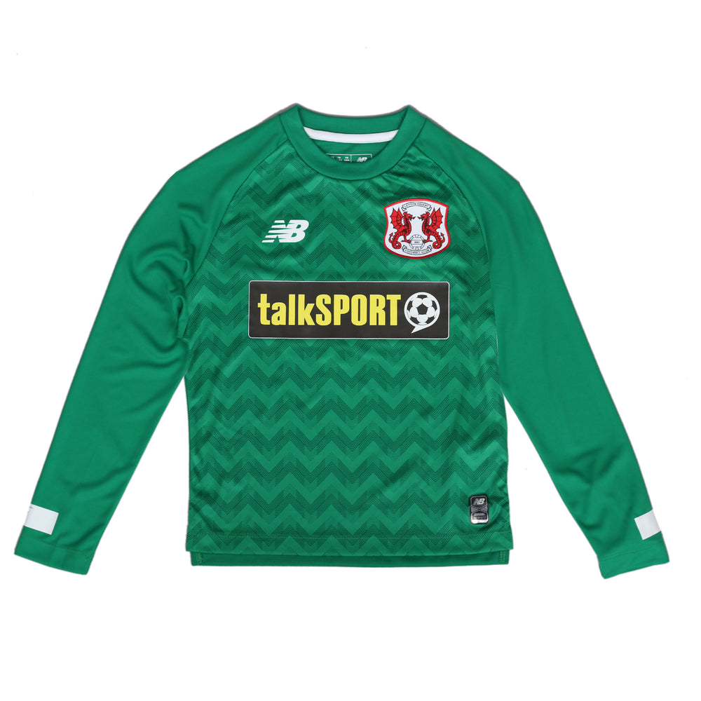 L/S Goalkeeper Kit Green 19-20 Junior