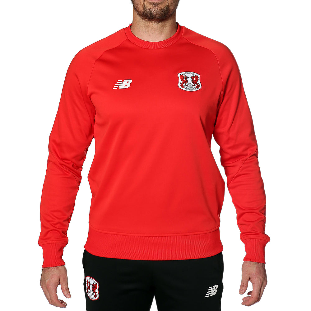 Mens Training Sweatshirt Red