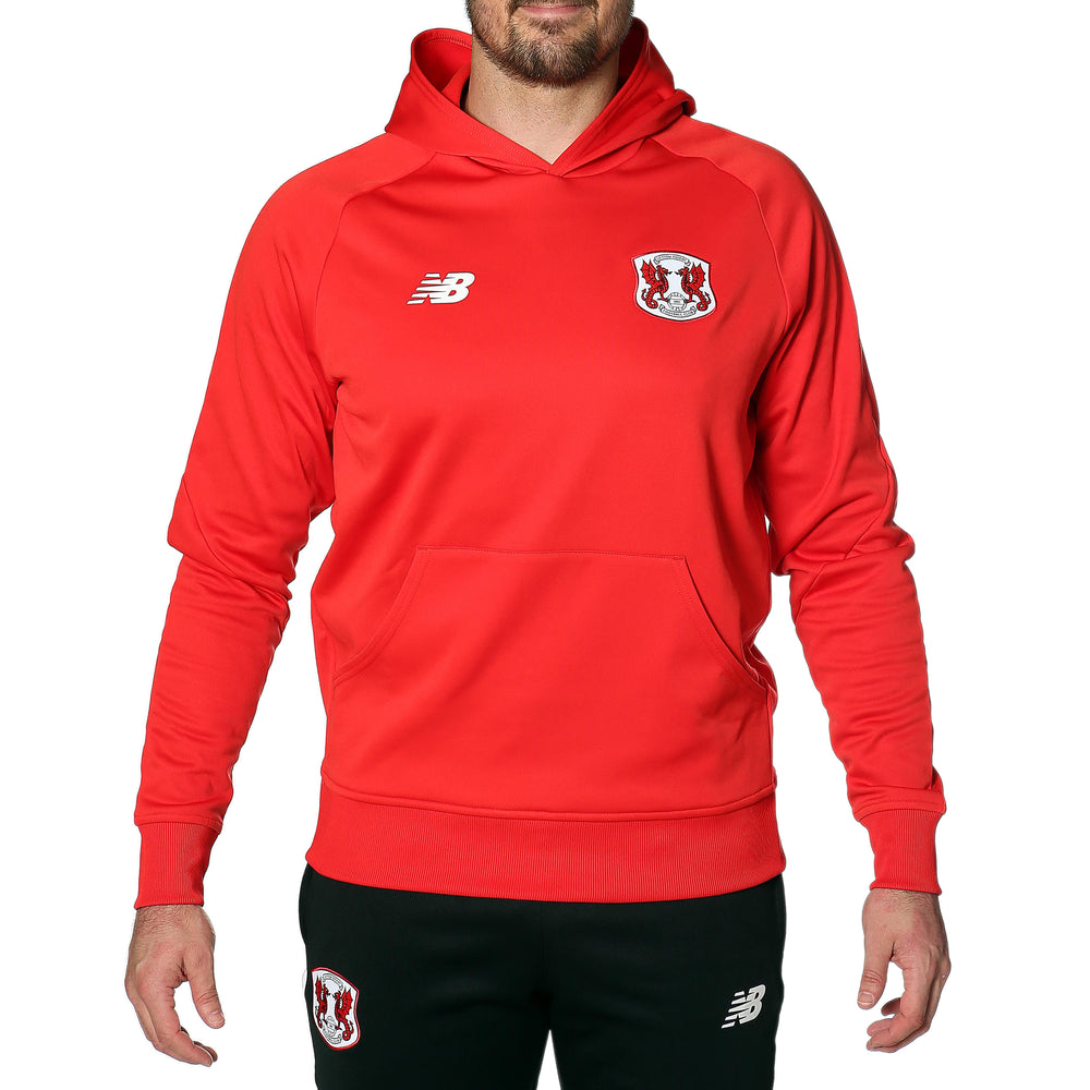 Men Training Hoody Red