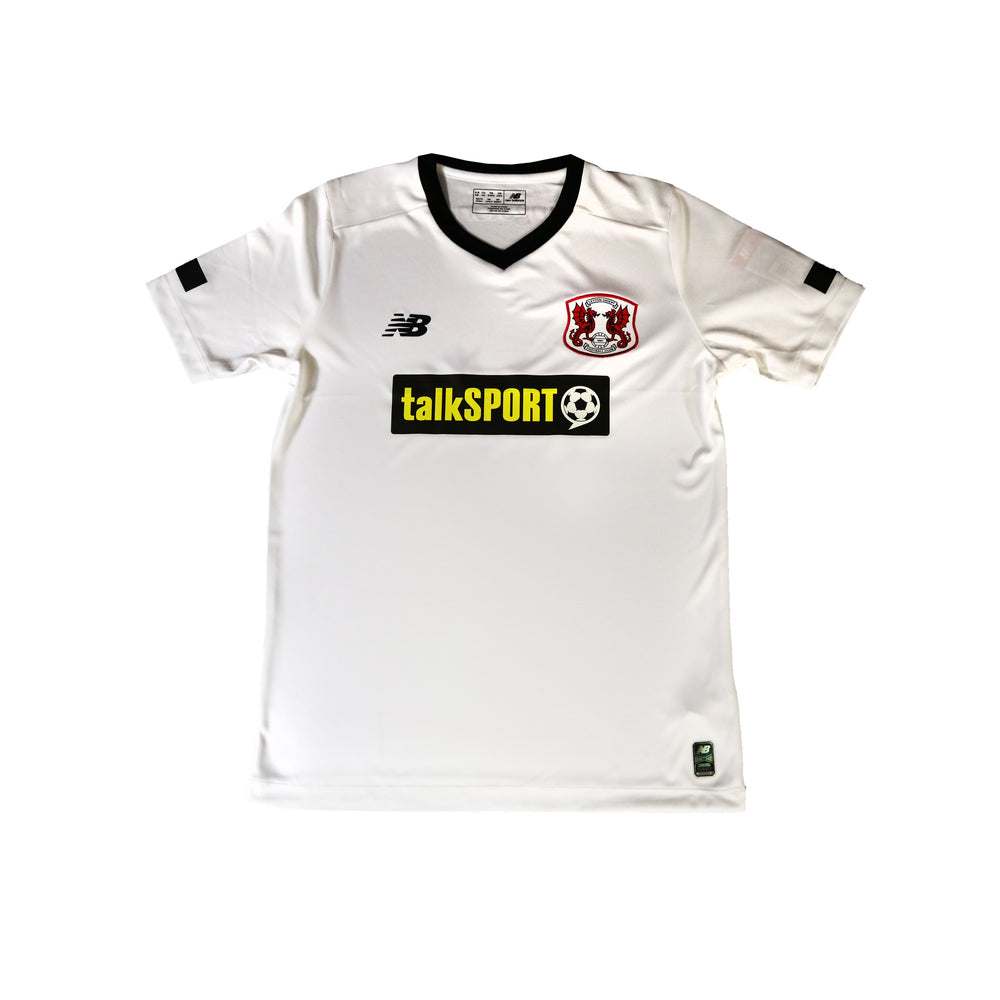S/S White 3rd Kit Replica 19-20 - Junior