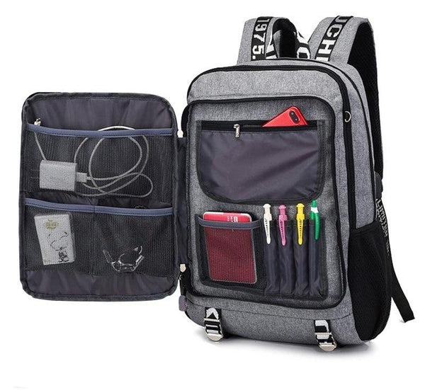 Waterproof Multifunction Travel Laptop Backpack