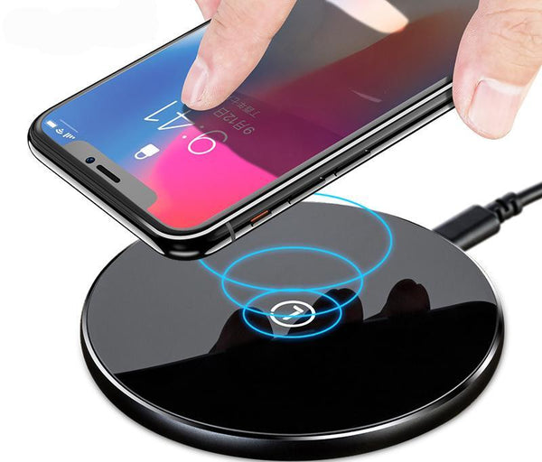 Slim Circle Mobile Phone Wireless Charger For Smart Phone
