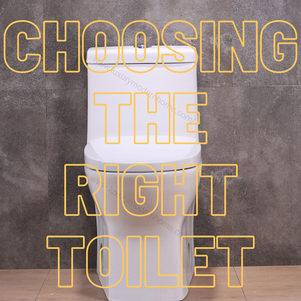 Tips on Choosing your Toilet