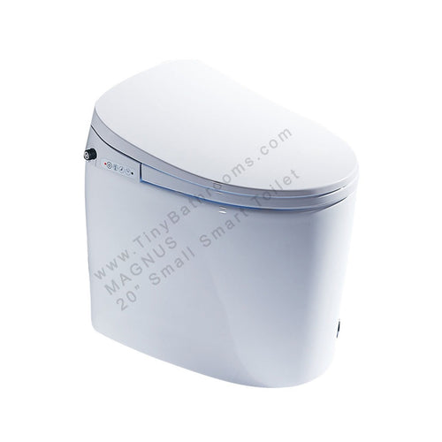 This MAGNUS intelligent toilet will wow every visitor to your small bathroom!