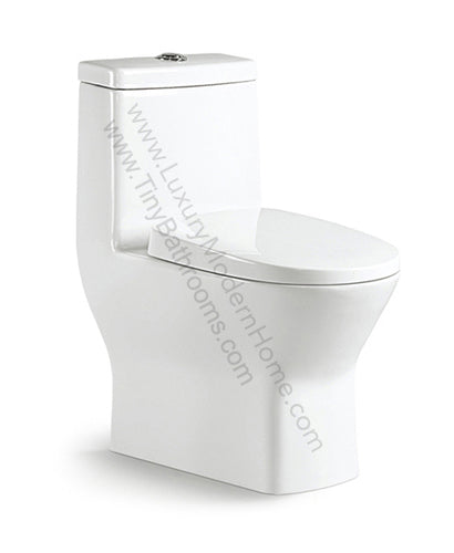 Our 23.5 inch toilet is perfect for small spaces.