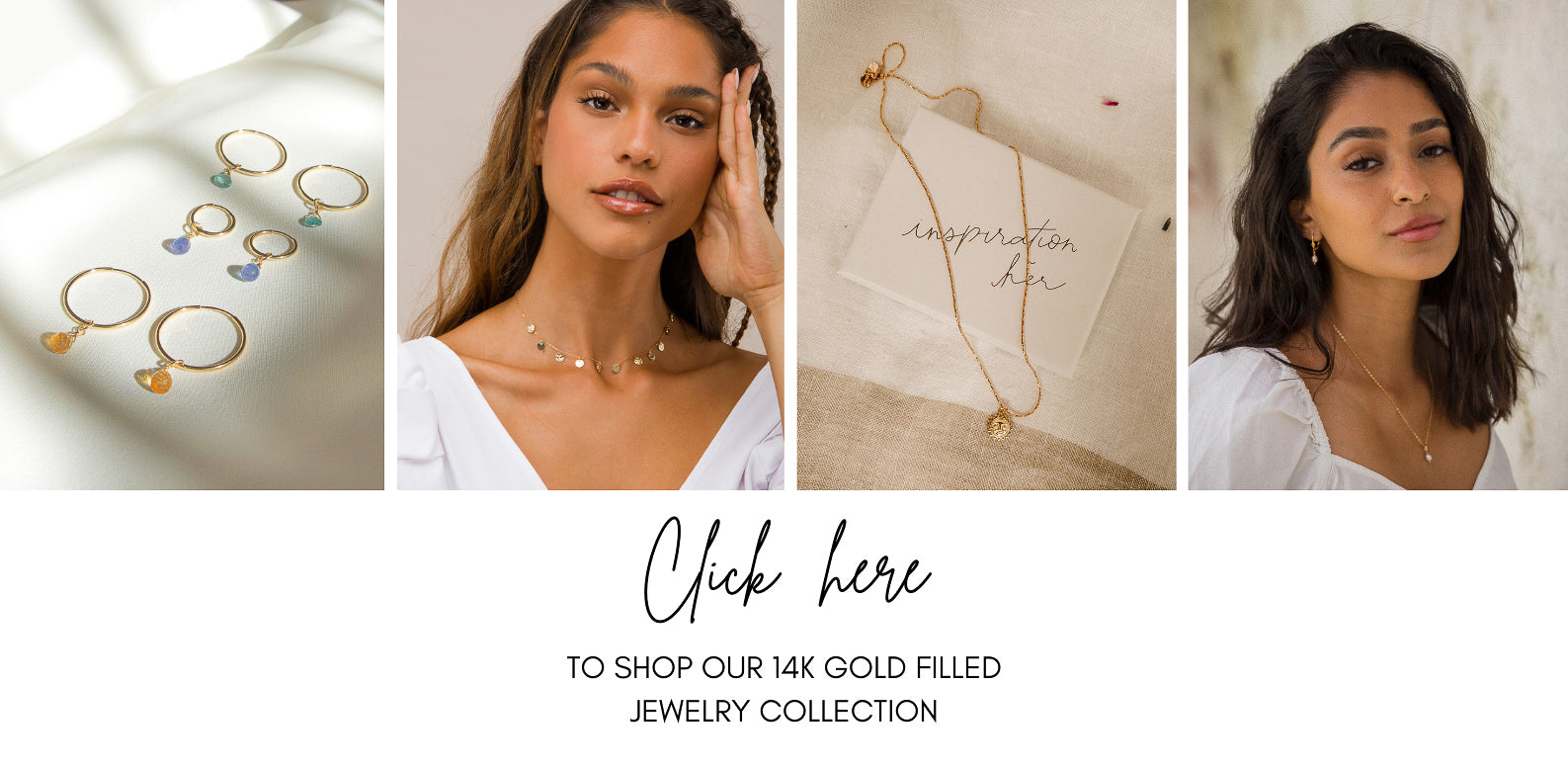 14K gold filled jewelry | Inspiration Her