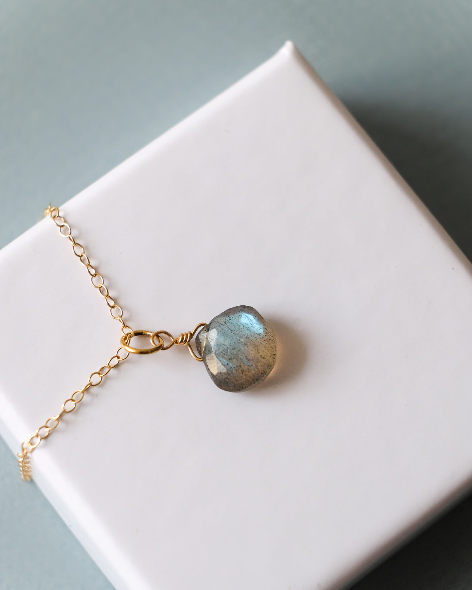 14K gold-filled Labradorite Necklace | Inspiration Her | Crystals associated with Scorpio