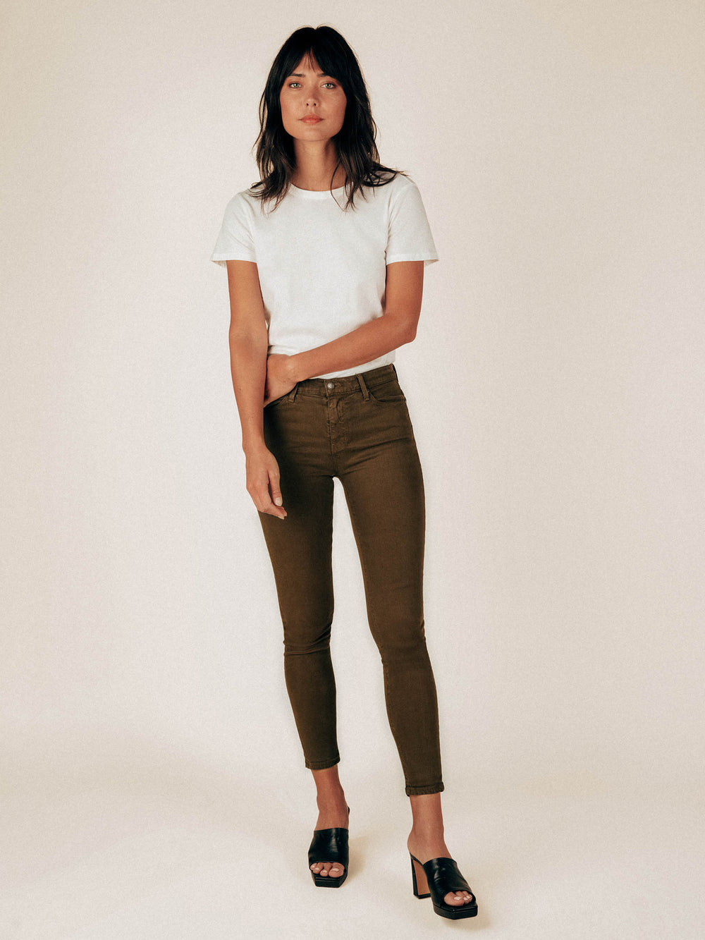 Dark Olive The Perfect 4 Pocket Pant - Graceful District