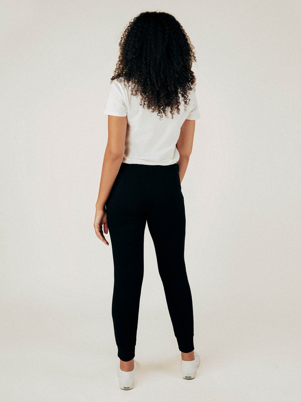 Black French Terry Sweatpant - Graceful District