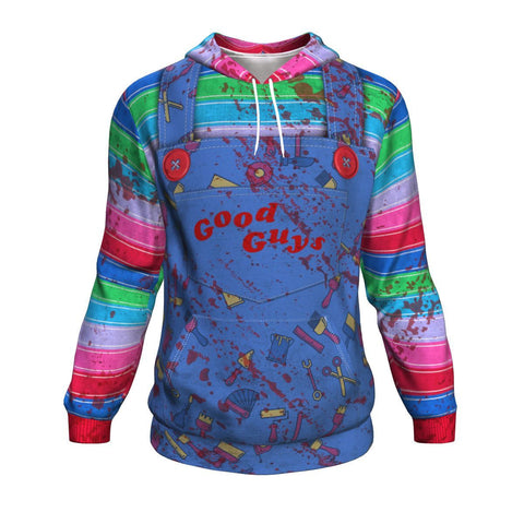 Chucky Inspired UGLY CHRISTMAS SWEATER Hoodie carthook_checkout, uglysweater- Nichefamily.com