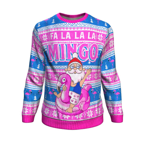 Fa la la la  mingo UGLY CHRISTMAS SWEATER Sweatshirt carthook_checkout, uglysweater- Nichefamily.com