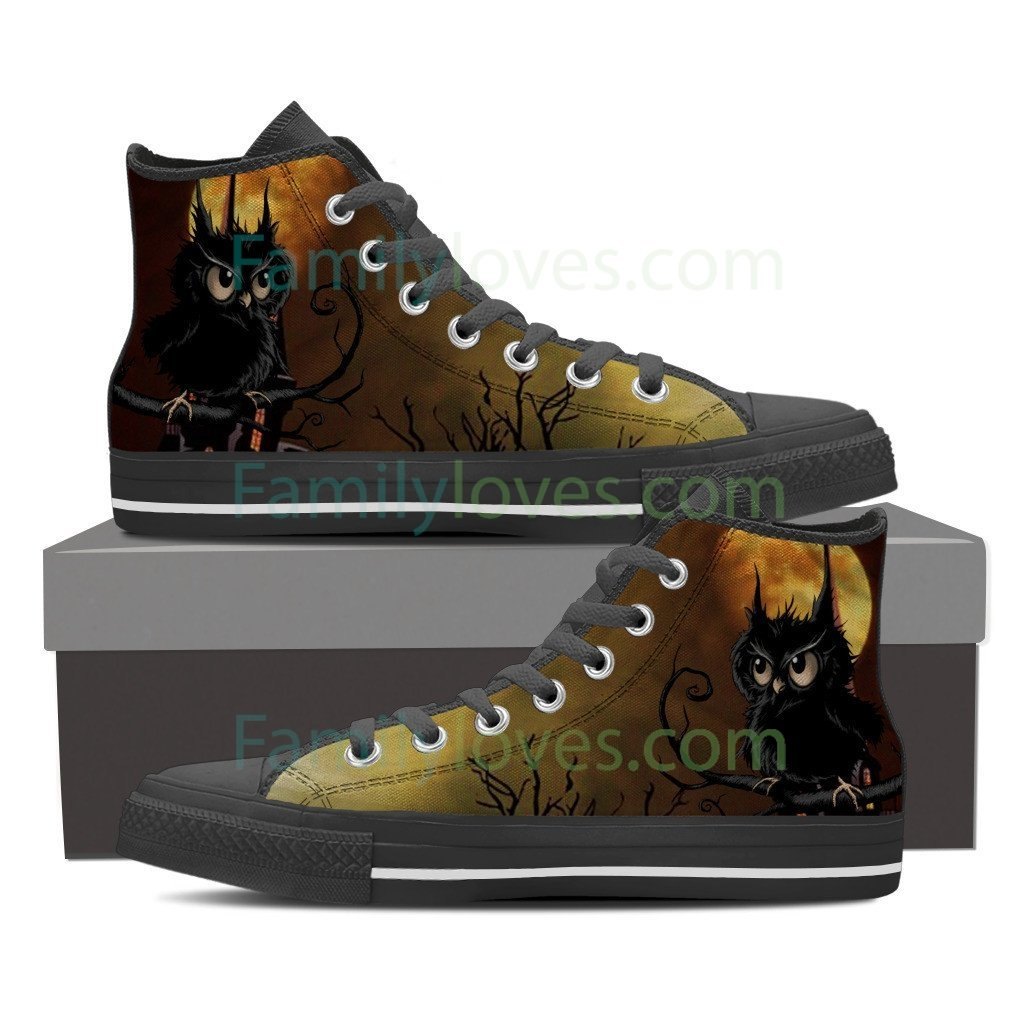 Buy NATIVE AMERICAN  OWL HIGH SHOES - Familyloves hoodies t-shirt jacket mug cheapest free shipping 50% off