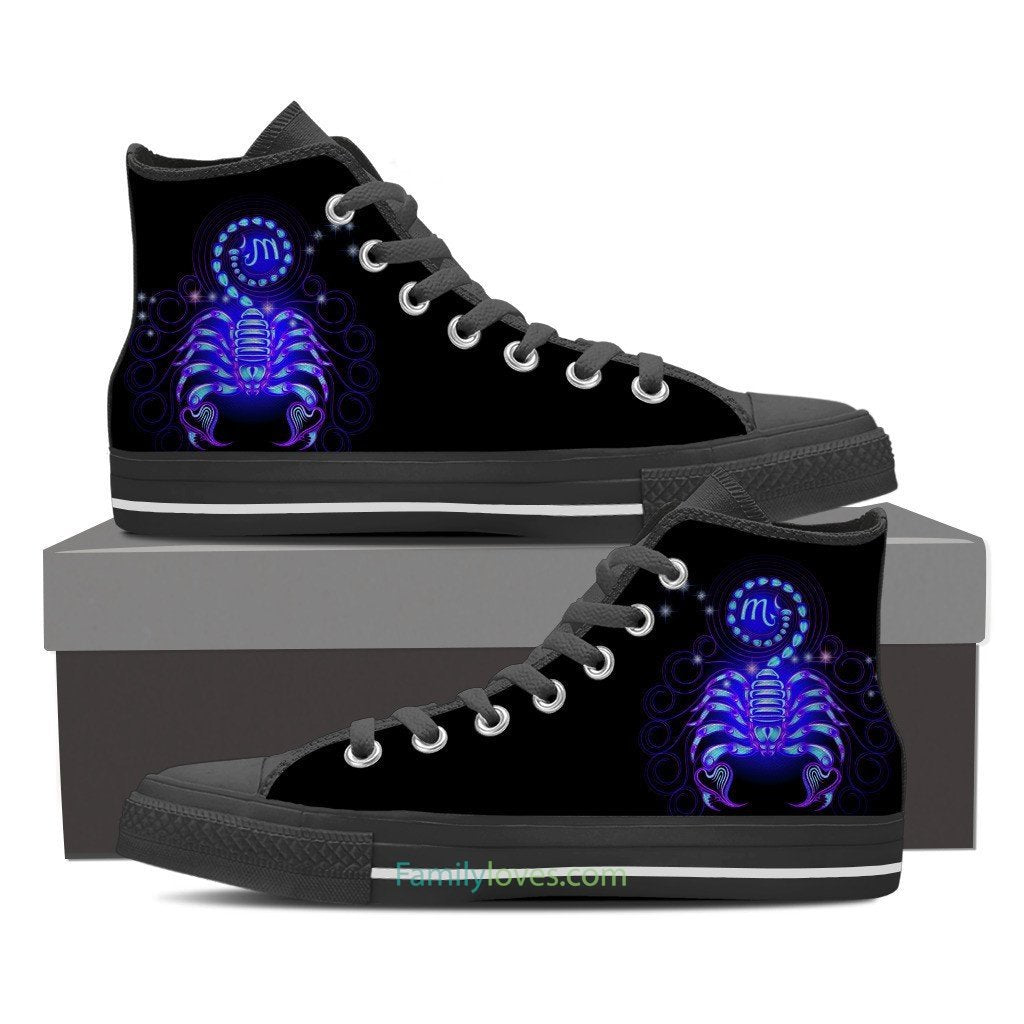 Buy SCORPIO HIGH SHOES - Familyloves hoodies t-shirt jacket mug cheapest free shipping 50% off
