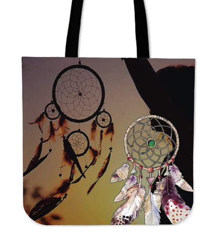 Native American Couple Dreamcatcher Tote Bags  Bag, Bags, carthook_checkout, Native, tote bag, Tote Bags- Nichefamily.com