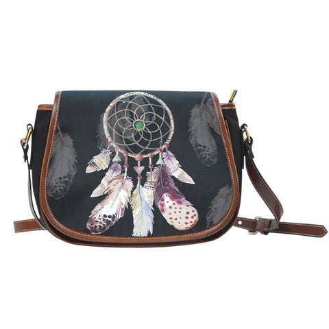 NATIVE DREAMCATCHER BAG  BAG, carthook_checkout, DREAMCATCHER BAG, NATIVE, SADDLE BAG- Nichefamily.com